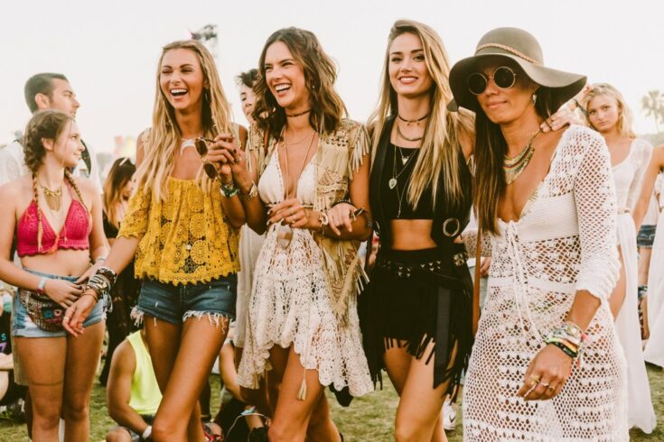 boho chic girls